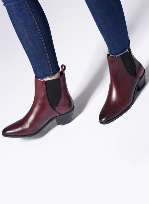 Bottines et boots Pepe jeans Dina Basic Noir vue bas / vue portée sac