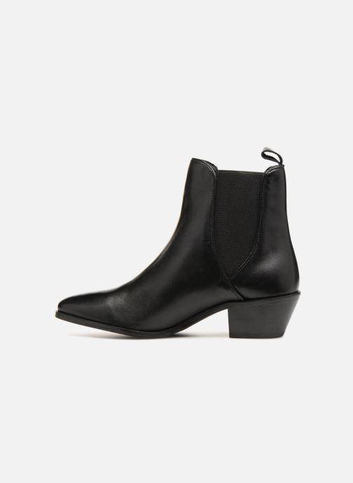 Bottines et boots Pepe jeans Dina Basic Noir vue face