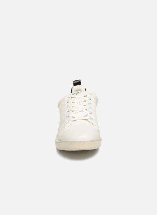 Baskets Pepe jeans Sofia Plain Blanc vue portées chaussures