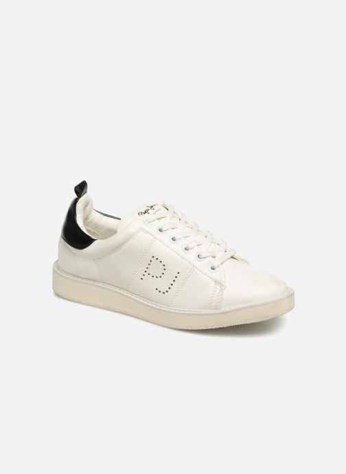 Trainers Pepe jeans Sofia Plain White detailed view/ Pair view