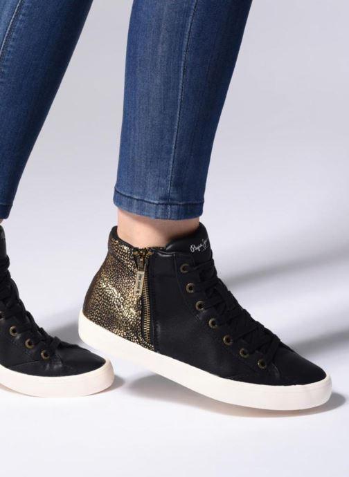 Sneakers Pepe jeans Clinton Break Nero immagine dal basso