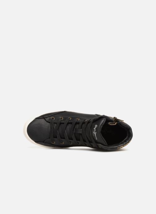 Sneakers Pepe jeans Clinton Break Nero immagine sinistra