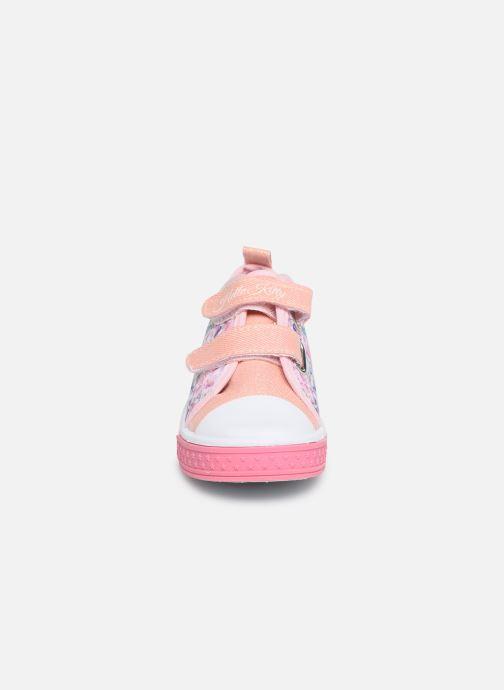 Baskets Hello Kitty HK ULITHA S L C Multicolore vue portées chaussures