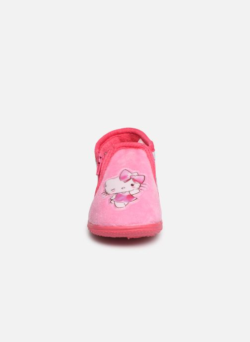 Chaussons Hello Kitty HK UMMU C Rose vue portées chaussures