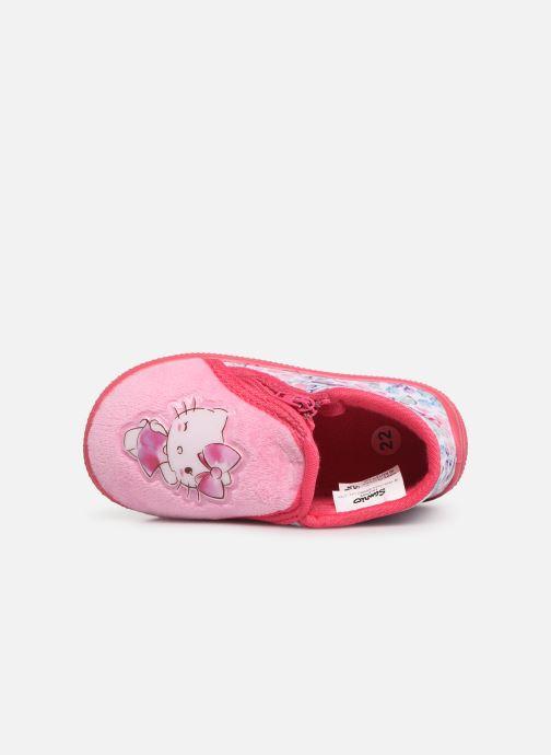Chaussons Hello Kitty HK UMMU C Rose vue gauche