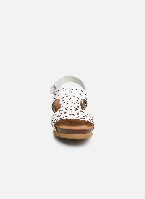 Sandales et nu-pieds Dorking Summer 7846 Blanc vue portées chaussures