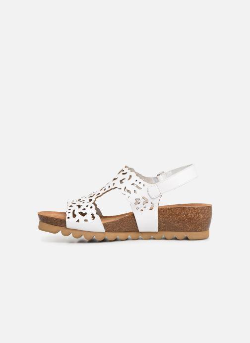 Sandales et nu-pieds Dorking Summer 7846 Blanc vue face