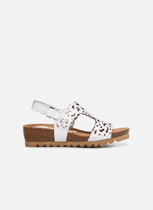 Sandales et nu-pieds Dorking Summer 7846 Blanc vue derrière