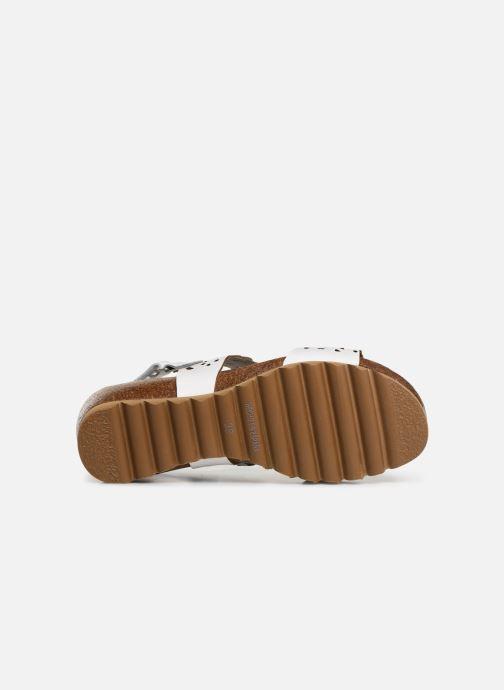 Sandales et nu-pieds Dorking Summer 7846 Blanc vue haut