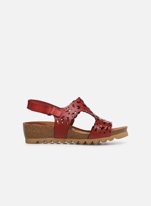 Sandales et nu-pieds Dorking Summer 7846 Rouge vue derrière