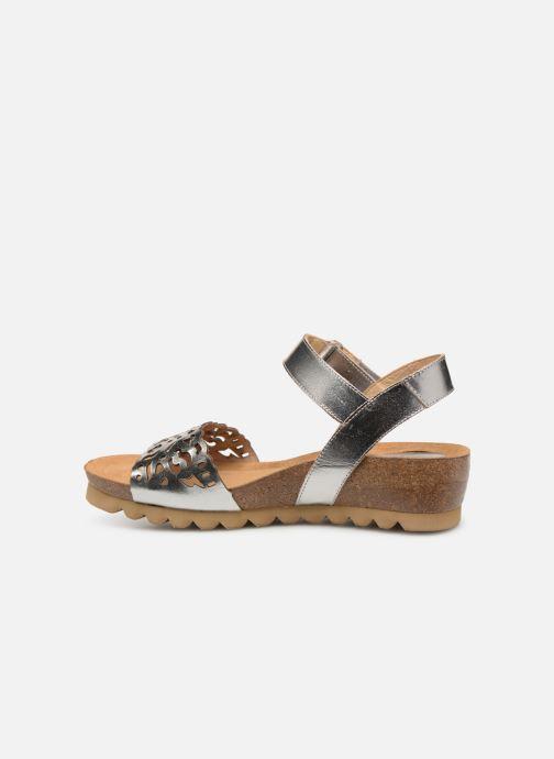Sandales et nu-pieds Dorking Summer 7847 Argent vue face