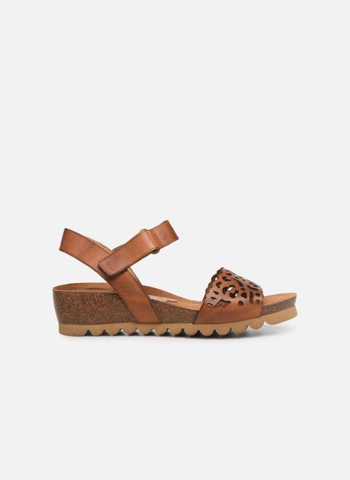 Sandales et nu-pieds Dorking Summer 7847 Marron vue derrière