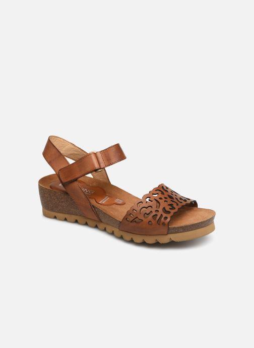 Sandales et nu-pieds Dorking Summer 7847 Marron vue détail/paire