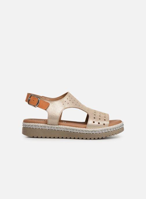 Sandales et nu-pieds Dorking Fresh 7777 Beige vue derrière