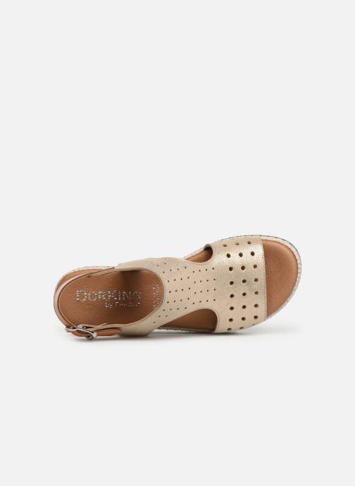 Sandales et nu-pieds Dorking Fresh 7777 Beige vue gauche