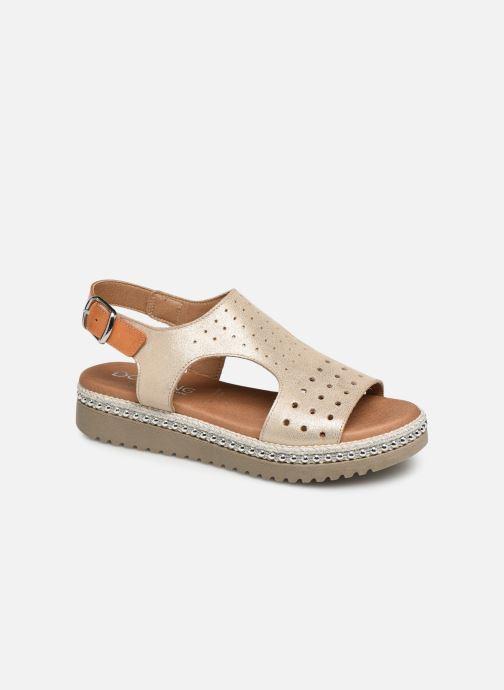 Sandales et nu-pieds Dorking Fresh 7777 Beige vue détail/paire