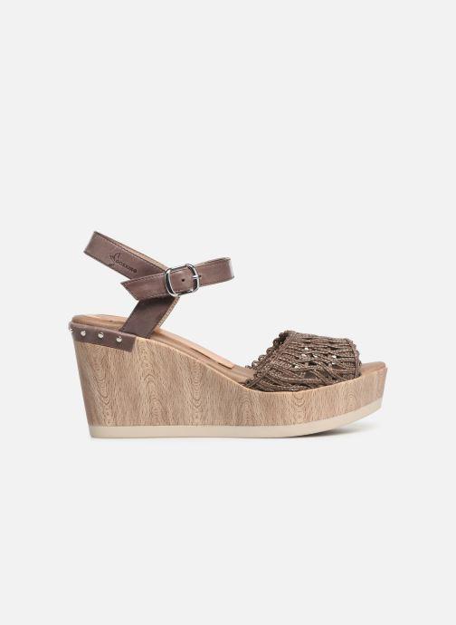 Sandales et nu-pieds Dorking Salma 7757 Marron vue derrière