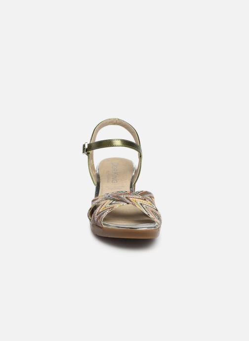 Sandales et nu-pieds Dorking Kolt 7871 Vert vue portées chaussures