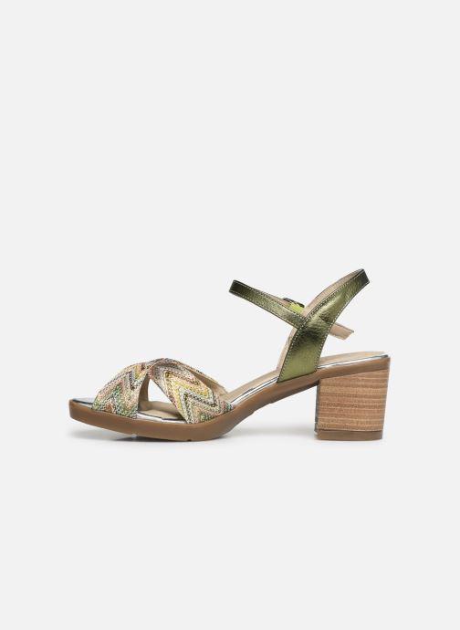 Sandales et nu-pieds Dorking Kolt 7871 Vert vue face