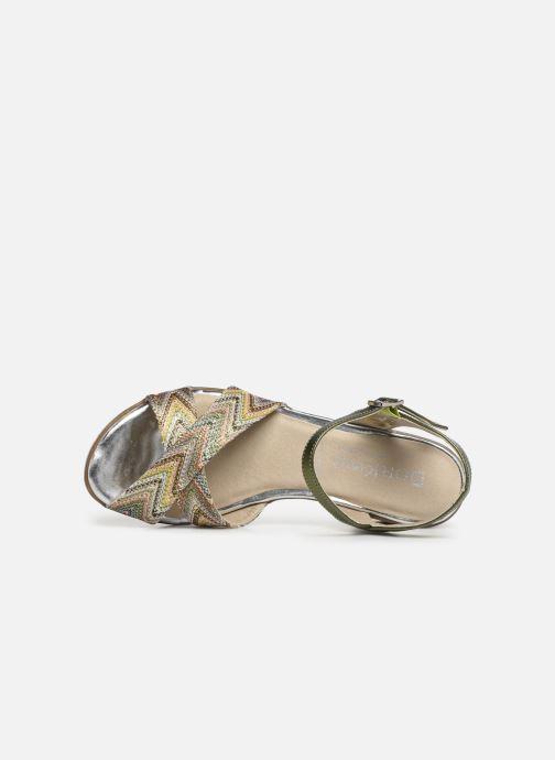 Sandales et nu-pieds Dorking Kolt 7871 Vert vue gauche