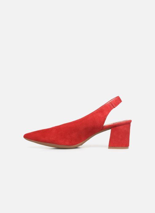 Zapatos de tacón Dorking Sofi 7806 Rojo vista de frente