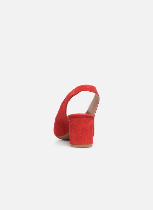 Zapatos de tacón Dorking Sofi 7806 Rojo vista lateral derecha