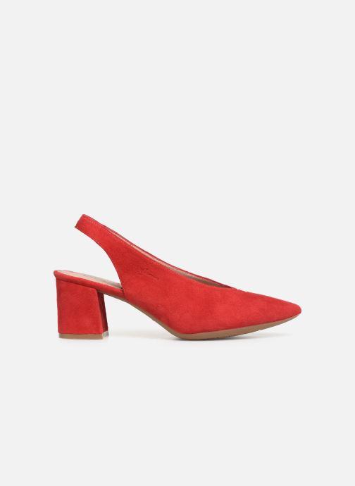 Zapatos de tacón Dorking Sofi 7806 Rojo vistra trasera