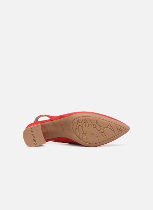 Zapatos de tacón Dorking Sofi 7806 Rojo vista de arriba