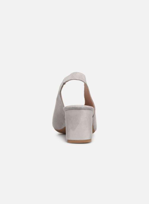 Zapatos de tacón Dorking Sofi 7806 Gris vista lateral derecha