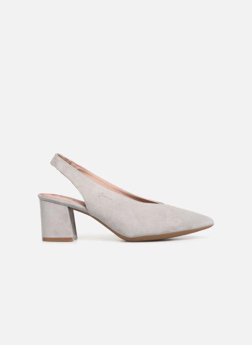 Zapatos de tacón Dorking Sofi 7806 Gris vistra trasera