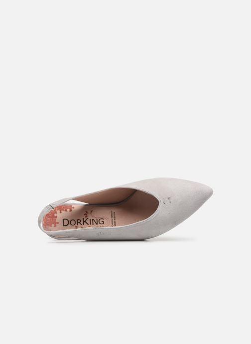 Zapatos de tacón Dorking Sofi 7806 Gris vista lateral izquierda