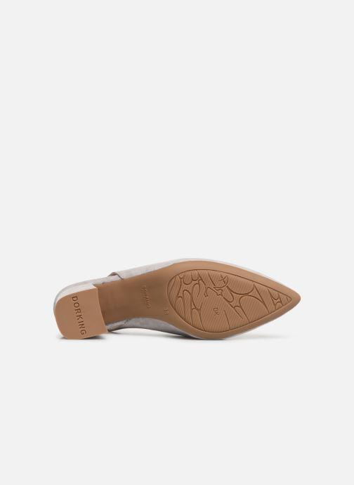 Zapatos de tacón Dorking Sofi 7806 Gris vista de arriba