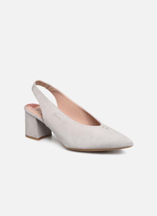 Zapatos de tacón Dorking Sofi 7806 Gris vista de detalle / par