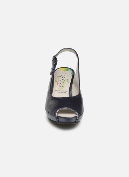 Escarpins Dorking Bliss 7830 Bleu vue portées chaussures