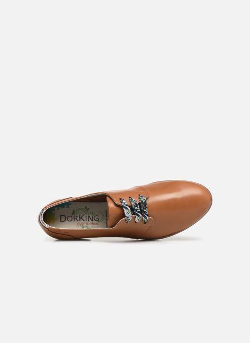 Chaussures à lacets Dorking Bahia 7822 Marron vue gauche