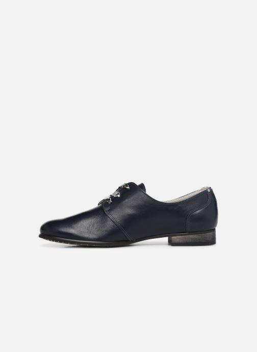 Zapatos con cordones Dorking Bahia 7822 Azul vista de frente