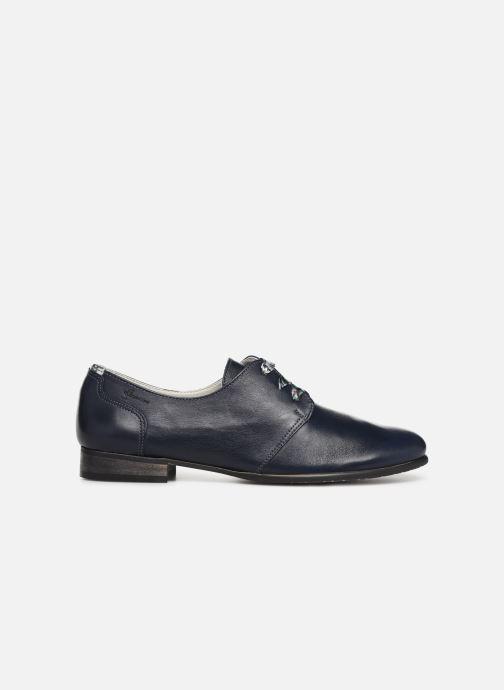 Zapatos con cordones Dorking Bahia 7822 Azul vistra trasera