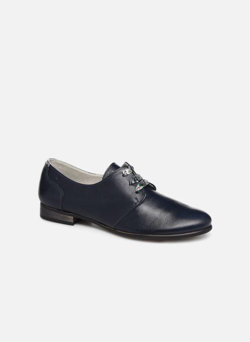 Zapatos con cordones Dorking Bahia 7822 Azul vista de detalle / par