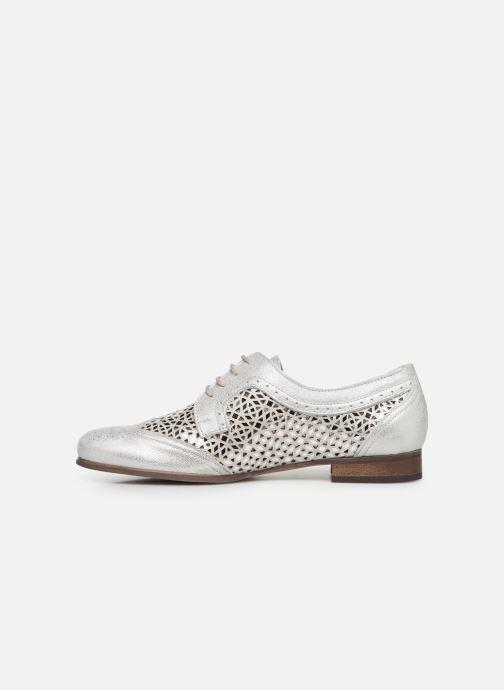 Zapatos con cordones Dorking Bahia 7821 Plateado vista de frente