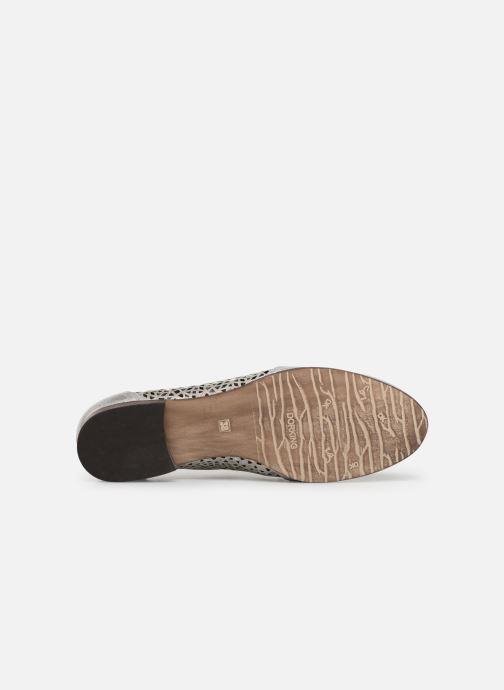 Zapatos con cordones Dorking Bahia 7821 Plateado vista de arriba