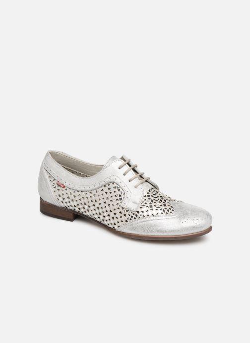 Zapatos con cordones Dorking Bahia 7821 Plateado vista de detalle / par