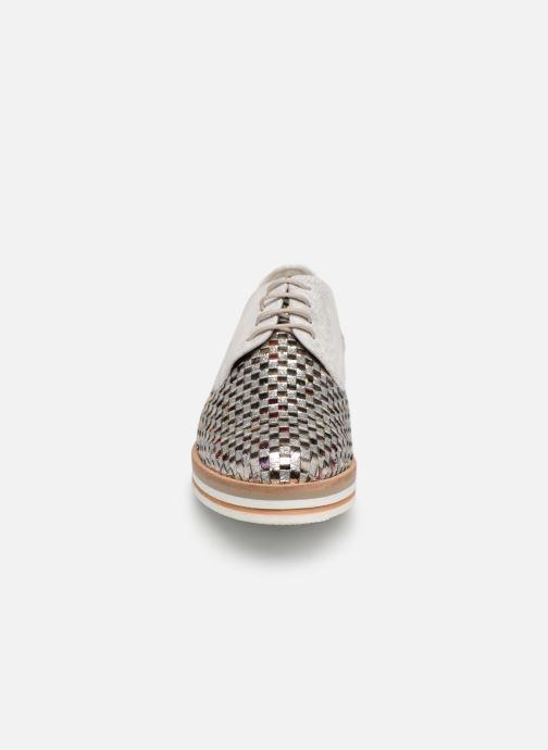 Chaussures à lacets Dorking Romy 7852 Argent vue portées chaussures