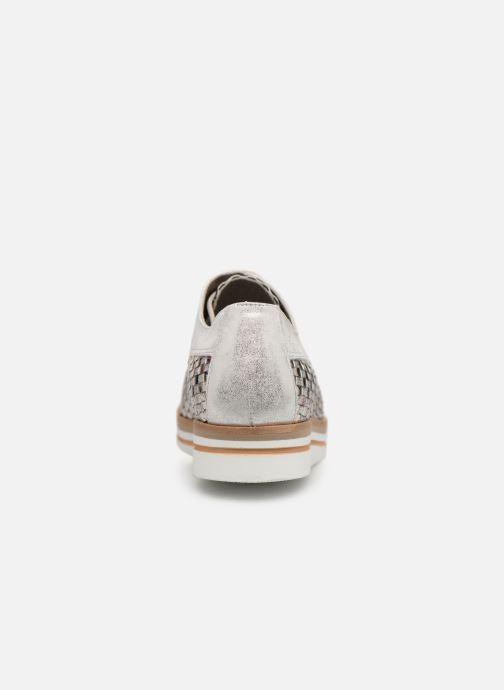 Chaussures à lacets Dorking Romy 7852 Argent vue droite