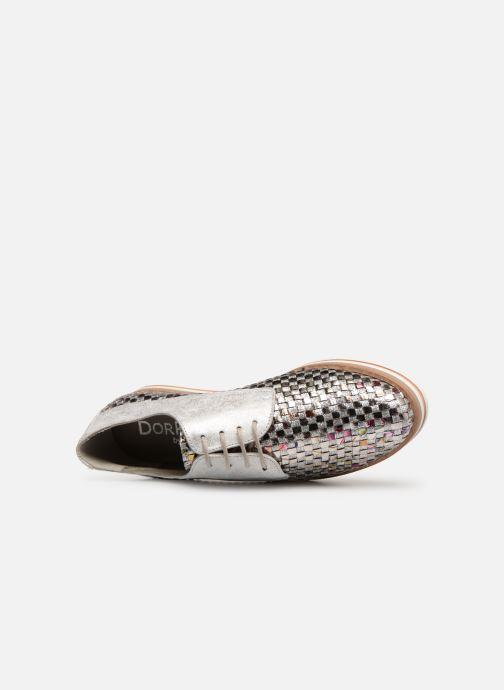 Chaussures à lacets Dorking Romy 7852 Argent vue gauche