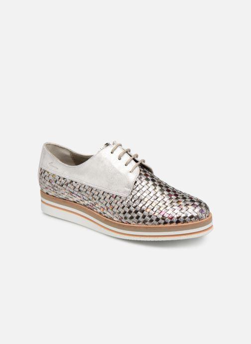 Chaussures à lacets Dorking Romy 7852 Argent vue détail/paire