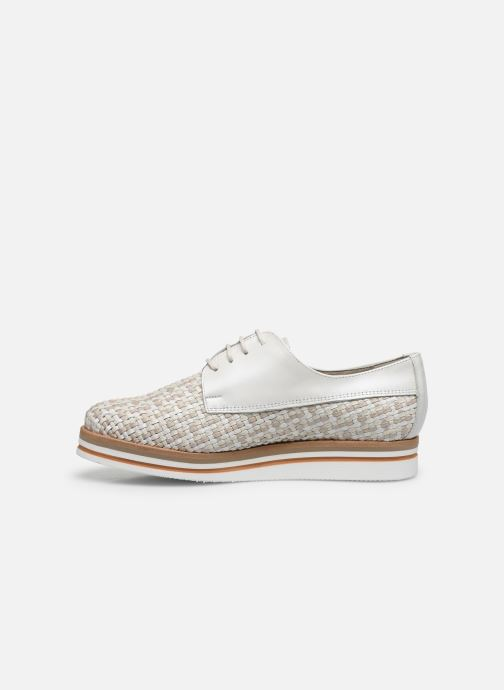 Zapatos con cordones Dorking Romy 7852 Blanco vista de frente
