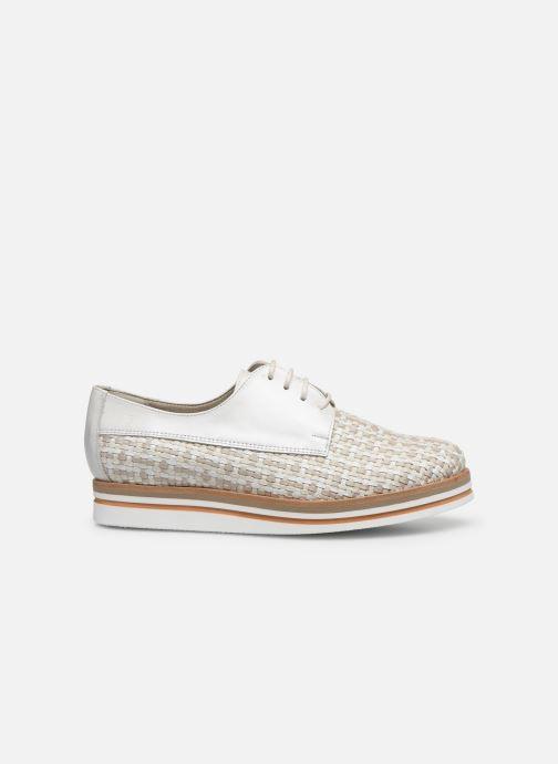 Zapatos con cordones Dorking Romy 7852 Blanco vistra trasera