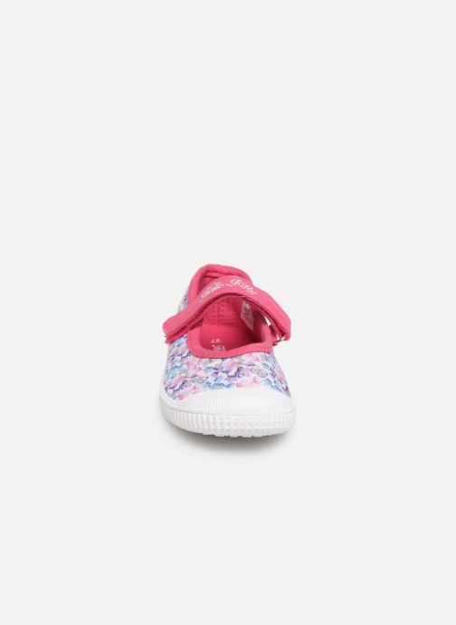 Ballerines Hello Kitty HK UDE C Multicolore vue portées chaussures