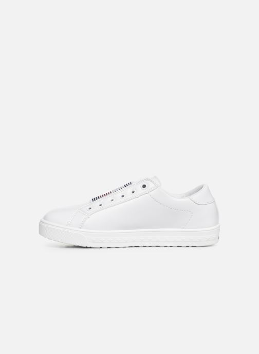 Baskets Tommy Hilfiger Slip-On Sneaker Blanc vue face