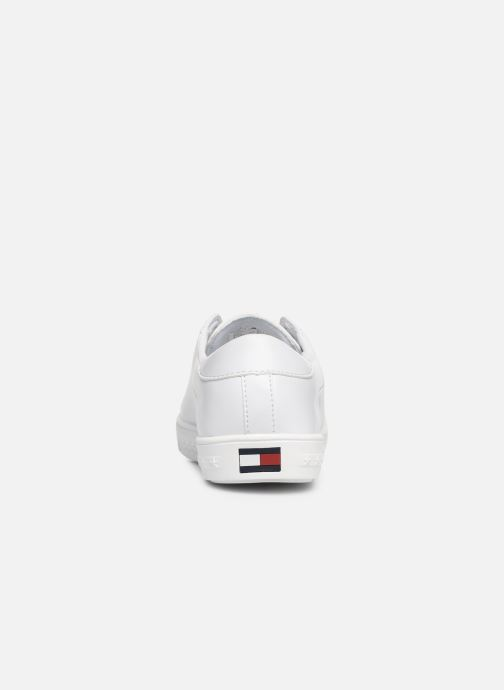 Baskets Tommy Hilfiger Slip-On Sneaker Blanc vue droite